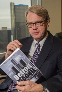 'Detroit Deceit'--Author spins web of intrigue in first book of legal career