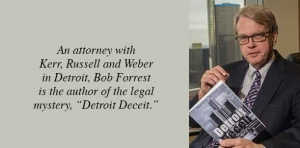 'Detroit Deceit': Author spins web of intrigue in first book of legal career