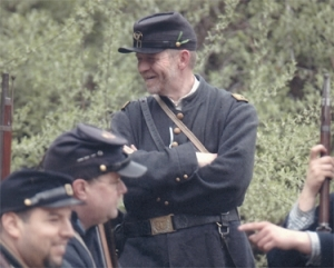 War years: Attorney takes step back in time at re-enactments