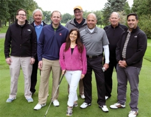 Outing supports foundation