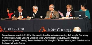 Commission meets in Holland to celebrate and ponder issues of interest to Hispanic/Latino community