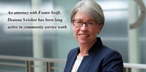 Fashion Law attorney Deanna Swisher heads up the Fosterfashion team at Foster Swift.