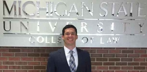 MSU 'Outstanding 3L' heads to litigation career