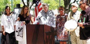 Reunifed Michigan families, advocates share a beautiful day at Hall of Justice