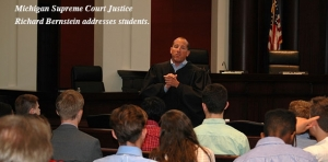 Teens explore law careers at Learning Center