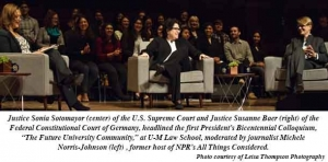Justices Sotomayor and Baer stress importance of diverse communities