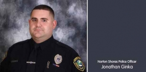 State lowers flag in honor of fallen officer Jonathan Ginka