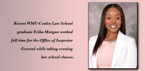 Tip-top: Cooley grad honored with Leadership Award