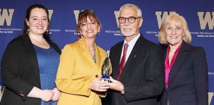 Combat veteran and attorney honored with award