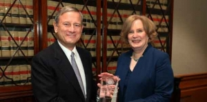 State judge honored for work in domestic violence