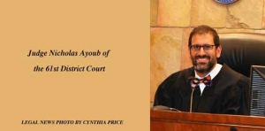 Newest 61st District Court Judge Ayoub brings deep-thinking demeanor to bench