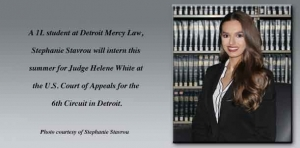 Law student's Fellowship ties passion for academics with her love for Detroit