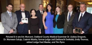 Annual meeting: Forty-year honorees and award winners saluted by the OCBA