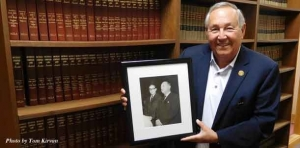 Showing the way: Attorney has enjoyed his various leadership roles