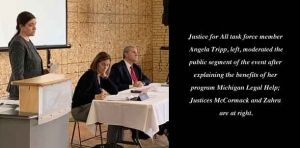 Supreme Court's Justice for All Task Force holds listening session in Grand Rapids