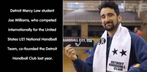 A Good Sport: Law student co-founded Detroit Handball Club