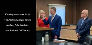 Legacy: Attorney is sworn in at his grandfather's former courtroom