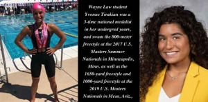 Going the distance: Champion distance swimmer aims for a career in civil rights and Constitutional Law